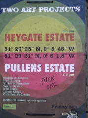 artists heygate fuck off