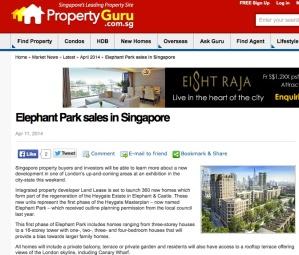 elephant park singapore