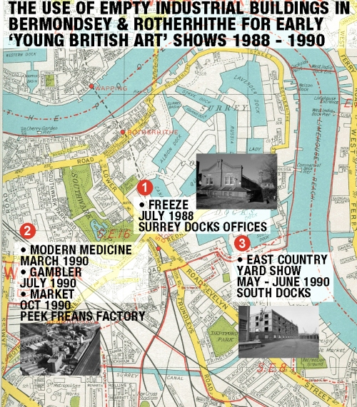rotherhithe art map