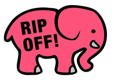 pink ele rip off