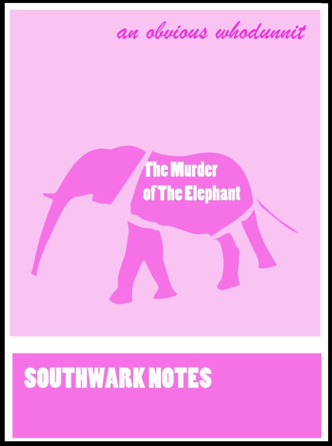 murder elephant cover new