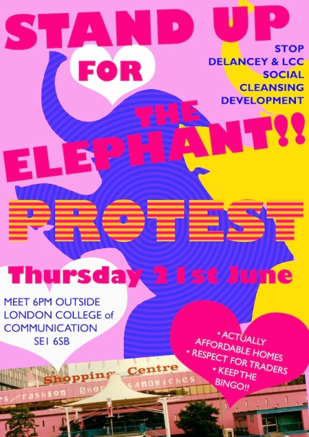 UP THE ELPEPHANT DEMO JUNE 21st SMALL