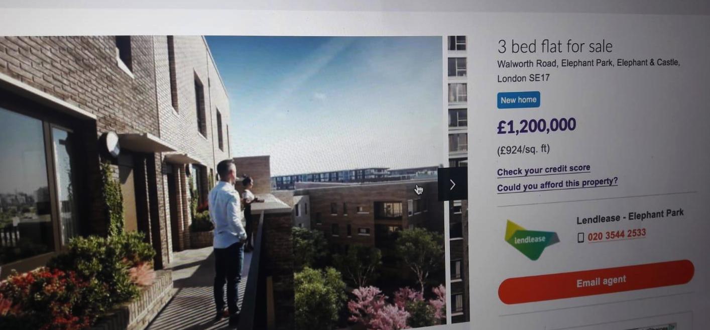 Heygate House Price Aug 2018