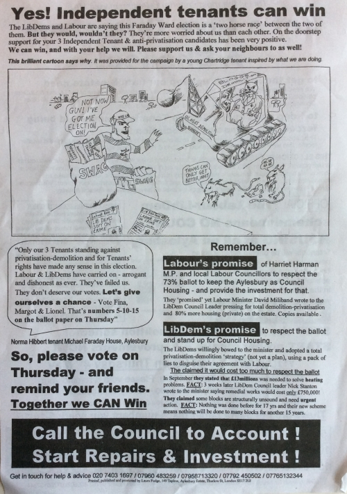 aylesbury campaign chance leaflet back