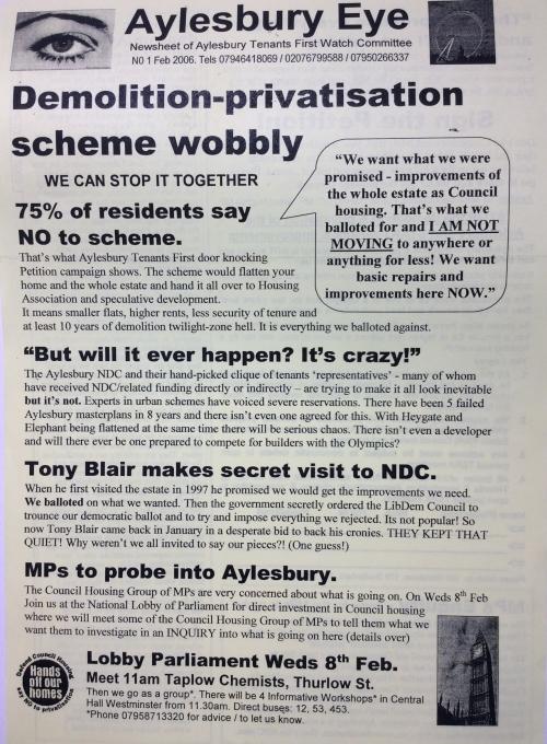 aylesbury campaign leaflet eye 1