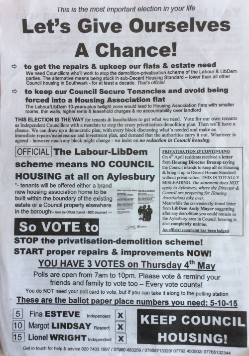 aylesbury campaigns chance leaflet 1