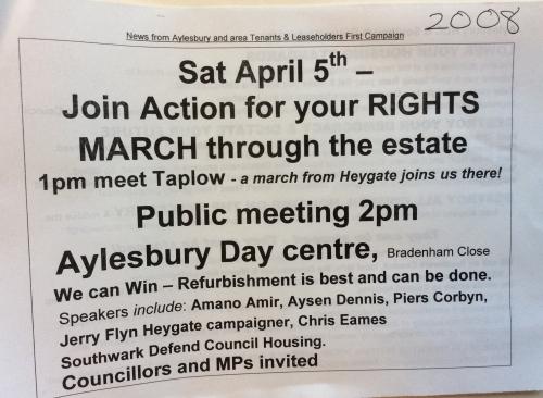aylesbury tenants first 2008 leaflet
