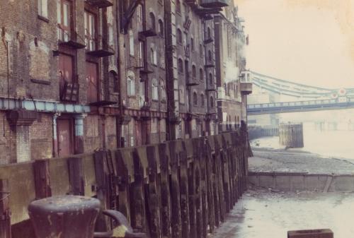 Bermondsey 1980 Butlers Wharf