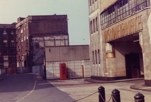 Hays Wharf 1980