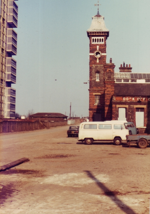 Rotherhithe Docks Office 1980