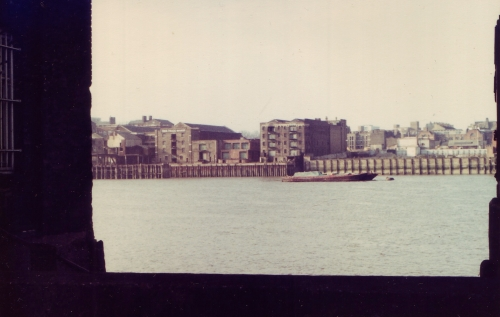 Rotherhithe Thames View Wharf 1980