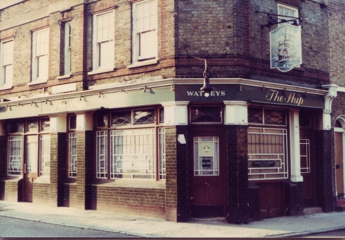 The Ship Rotherhithe 1980