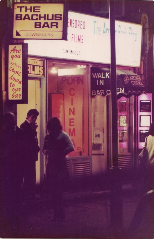 SOHO Bacchus Bar 1980