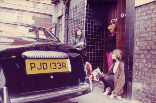 SOHO Back Door Fans 1980