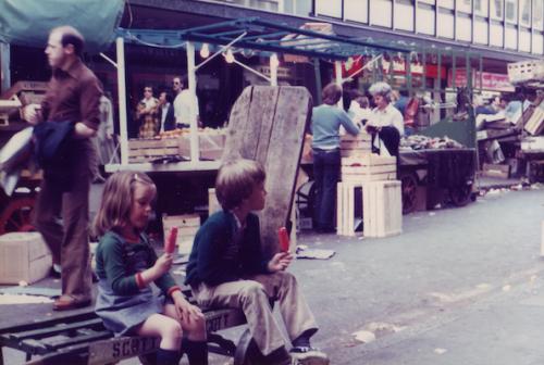 SOHO Berwick St 1980