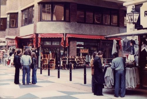 SOHO Carnaby St 1980