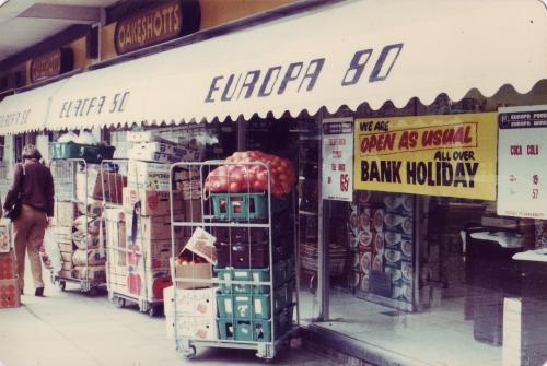 SOHO Europa Shop 1980