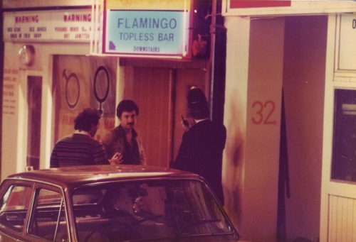 SOHO Flamingo Topless Bar 1980