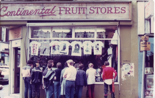 SOHO Fruit Store Punk Shop 1980