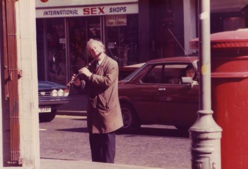 SOHO Man Flute Sex Shop 1980