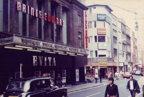 SOHO Old Compton St 1980