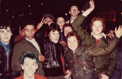 SOHO Punks and Teens 1980
