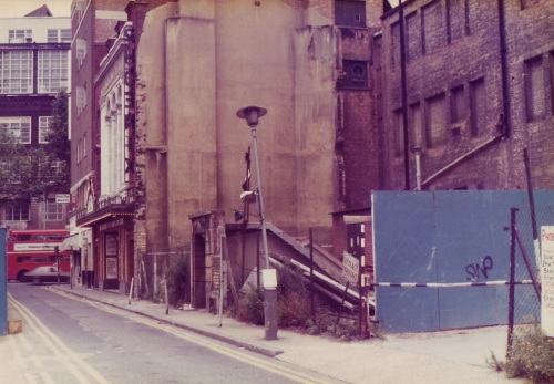 SOHO Road to Shaftesbury Ave 1980
