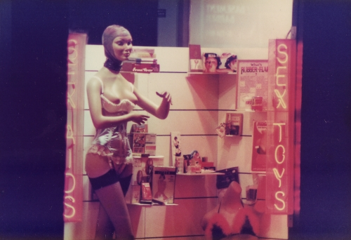 SOHO Sex Shop Dummy 1980