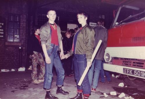 SOHO Skinhead Fans Poster 1980