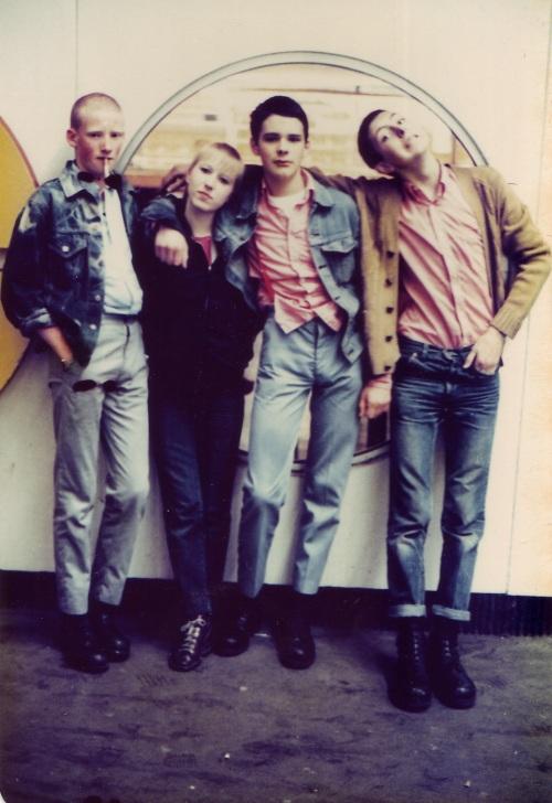 SOHO Skins Posing 1980