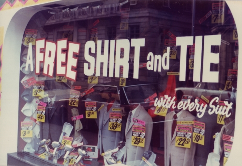 SOHO T Shirt Shop 1980