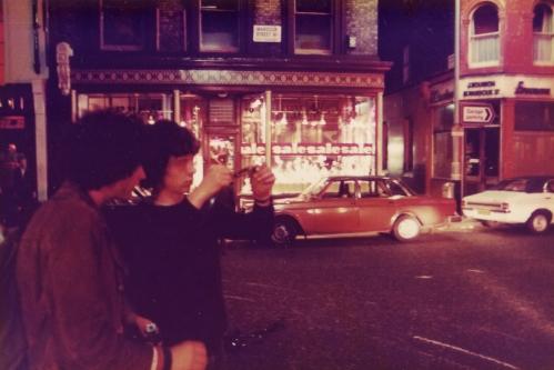 SOHO Wardour St 1980