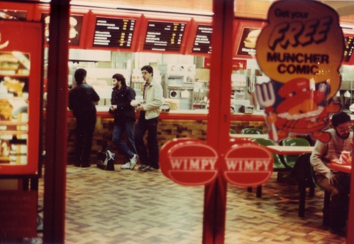SOHO Wimpy Bar 1980