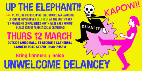 Unwelcome Delancey Kick